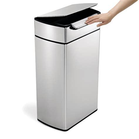 poubelle cuisine 40l avis sur la poubelle simplehuman 40l touch bar inox