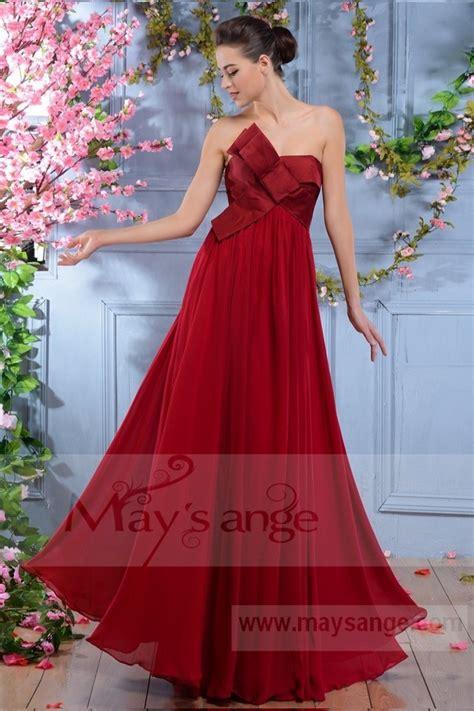 robe pour mariage framboise tout framboise robe longue pour soir 233 e gala maysange