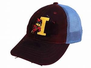 Iowa State Cyclones Retro Brand Red Vintage 1983 Logo Worn ...