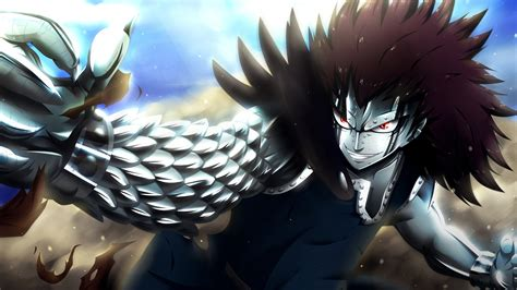 gajeel redfox dragon force fairy tail