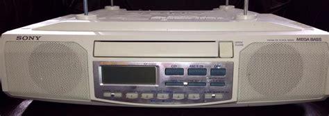 white under cabinet radio sony under counter radio cd player west shore langford