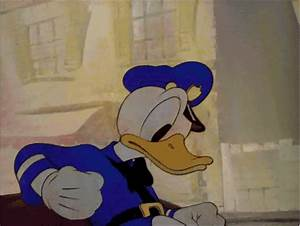 Saluting Donald Duck GIF - Find & Share on GIPHY