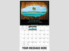 Motivational Quotes Calendar 65¢ promotional calendar