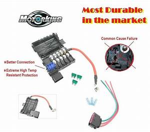For Vw Beetle Bora Jetta Golf Mk4 Audi Fuse Box