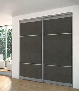 portes coulissantes placards dressings pieces sogal With decoupe porte de placard coulissante