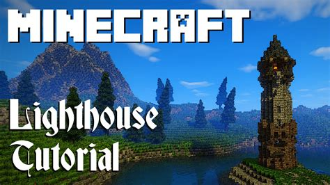 minecraft tutorial lighthouse graywatch youtube