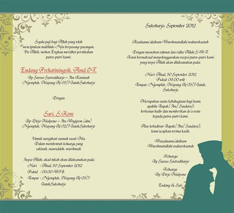 contoh desain undangan