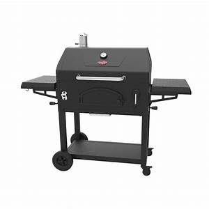 Shop Char-Griller 32.9-in Black Powder Coat Charcoal Grill ...