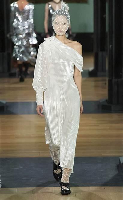 Fall Vogue Runways Bridal March Dresses Wear