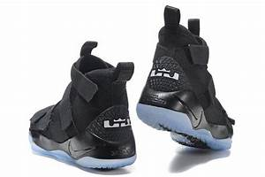 "Nike LeBron Soldier 11 ""Prototype"" Black/Black-Ice Blue ..."