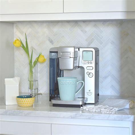 herringbone carrara backsplash a kitchen backsplash transformation a design decision gone wrong zdesign at home