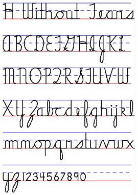 handwriting  tears exodus books
