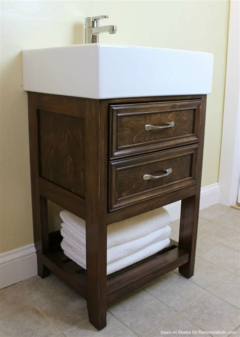 mid century modern bathroom vanity remodelaholic ikea hack how to build a small diy