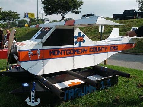Avon Cardboard Boat Regatta by Cardboard Boat Race Montgomery County Ems Plane