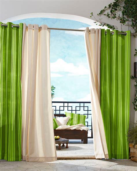 indoor outdoor curtains indoor outdoor curtains displaying beautiful details that