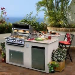 portable kitchen island bar top 20 diy outdoor kitchen ideas 1001 gardens