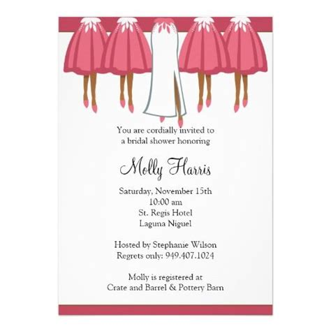 African American Bridal Shower Invitation | African ...