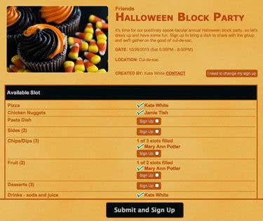 plan  spook tacular halloween block party