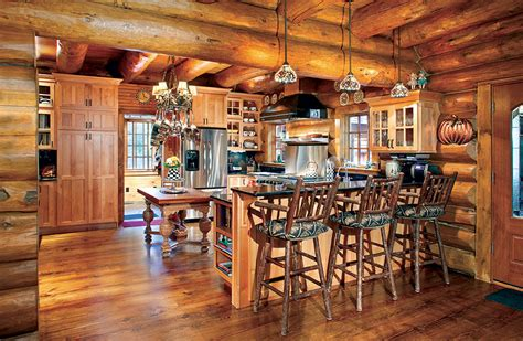 adirondack style log cabin  rustic refinement