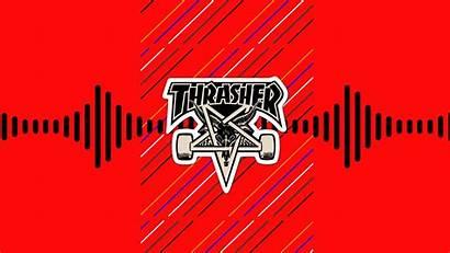 Thrasher Skateboard Skate Wallpapers Skateboarding Desktop Backgrounds