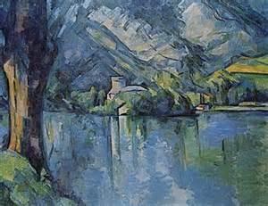 Cézanne Peinture by Lac D Annecy Dans La Peinture Wikip 233 Dia