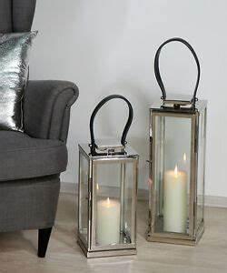 Windlicht Laterne Edelstahl : laterne windlicht casablanca aus edelstahl silber deko design ebay ~ Eleganceandgraceweddings.com Haus und Dekorationen
