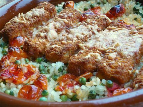 cuisiner le blanc de poulet gratin de riz au poisson pané la taverne de ginia