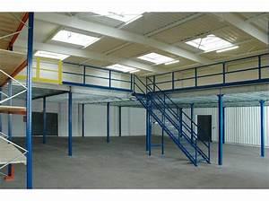Mezzanine Metallique En Kit : plate forme mezzanine plateforme poteaux manutention ~ Premium-room.com Idées de Décoration