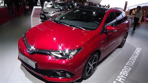 toyota auris hybride 2017 2017 toyota auris touring sports hybrid exterior and interior auto show 2016