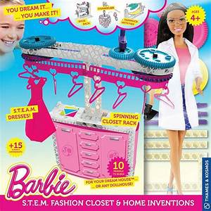 Barbie Steam Fashion Closet Rack And Home Inventions With