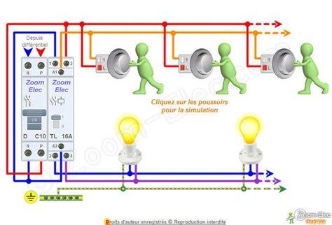 schema electrique du telerupteur bipolaire luminaires