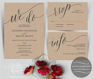 we do wedding invitation instant download by teeshaderrick With etsy wedding invitations pdf