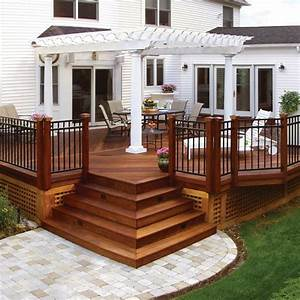 20, Beautiful, Wooden, Deck, Ideas, For, Your, Home
