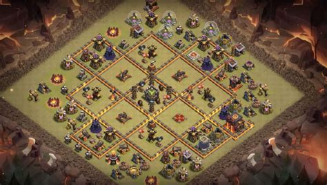 3 th10 layouts with 2 13 th7 to th11 farming trophy war base layouts for 3 th
