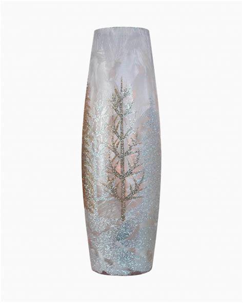 stoney creek winter scene light  tall vase  paper store