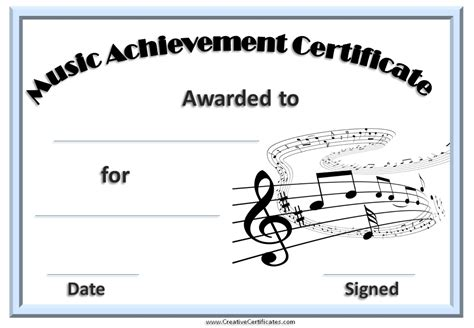 certificate templates with photos best photos of singing printable template singing award