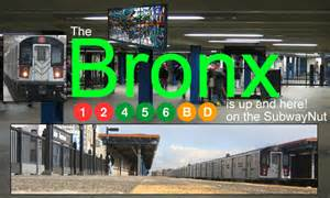 Subway Train Station Bronx
