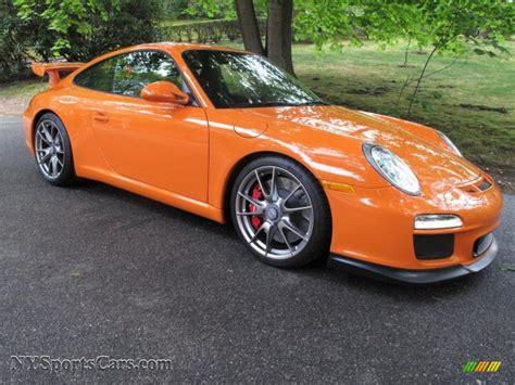 orange porsche 911 gt3 2010 porsche 911 gt3 in orange photo 8 783587