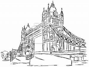 London Bridge Dessin : obraz tower bridge london zeichnung handzeichnung na wymiar ilustracja rysunek graficzny ~ Dode.kayakingforconservation.com Idées de Décoration