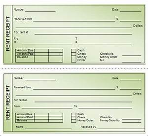 sample rent receipt template 20 download free documents With printable receipt