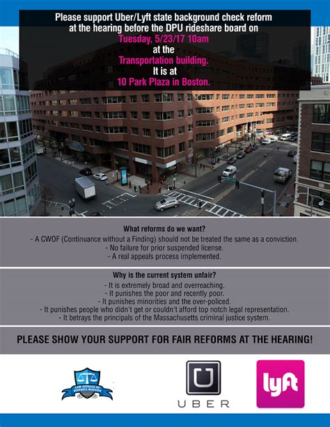 cori background check support uber lyft cori background check reform