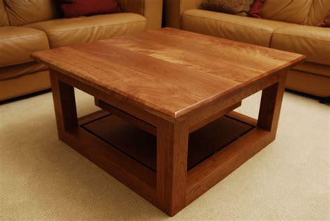 handmade cherry coffee table by schmitt custom furniture