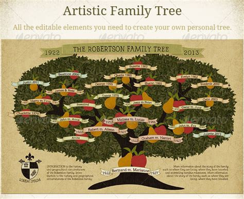 family tree template    documents