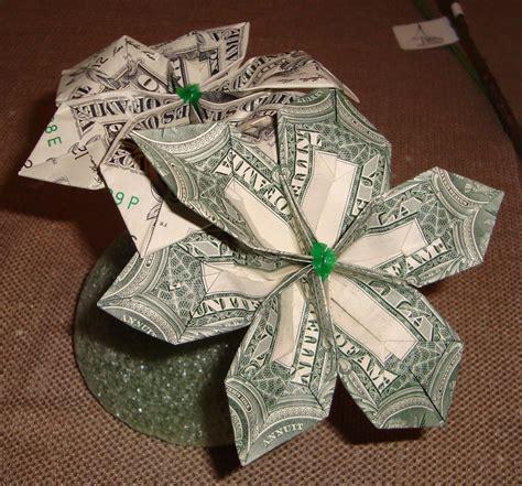 money origami flower bliss tree origami