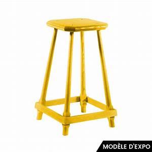Tabouret De Bar Jaune : tabouret de bar gustave jaune adentro pas cher grandes marques en promo sur zeeloft ~ Teatrodelosmanantiales.com Idées de Décoration