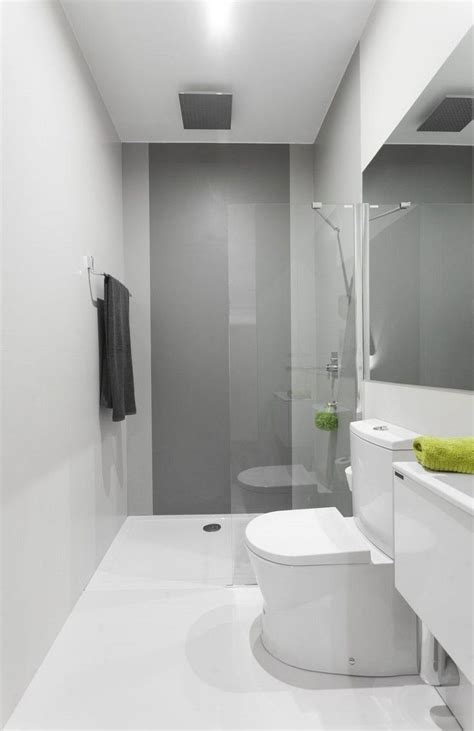 Kleines Badezimmer Grau by Bodengleiche Dusche Mit Glaswand Und Bad In Grau Und Wei 223