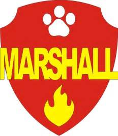 Marshall PAW Patrol Badge