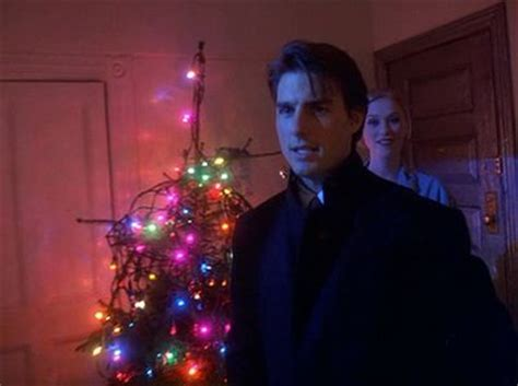 eyes wide shut christmas lights sunset gun lights trees wide shut