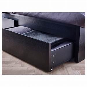 Lit 180x200 Ikea : malm cadre lit haut 4rgt brun noir 180x200 cm ikea ~ Teatrodelosmanantiales.com Idées de Décoration