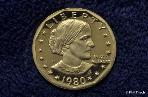 susan b anthony coin 1980 susan b anthony dollar phil thach